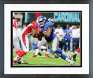 New York Giants Damontre Moore 2014 Action Framed Photo