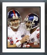 New York Giants David Tyree & Eli Manning SuperBowl XLII Action Framed Photo