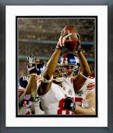 New York Giants David Tyree Super Bowl XLII Action Framed Photo