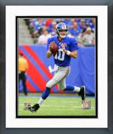 New York Giants Eli Manning 2014 Action Framed Photo