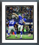 New York Giants Eli Manning 2015 Action Framed Photo