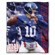 New York Giants Eli Manning Silk Touch Blanket