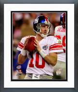 New York Giants Eli Manning Super Bowl XLII Action Framed Photo