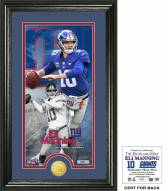 New York Giants Eli Manning Supreme Bronze Coin Panoramic Photo Mint
