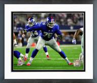 New York Giants Ereck Flowers 2015 Action Framed Photo
