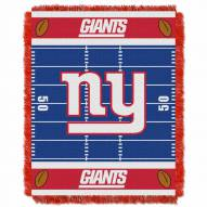 New York Giants Field Baby Blanket