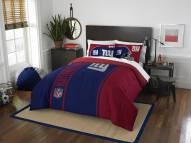New York Giants Full Comforter & Sham Set