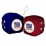 New York Giants Fuzzy Dice