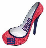 New York Giants Glitter Shoe Bottle Holder