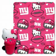 New York Giants Hello Kitty Blanket & Pillow