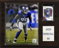 "New York Giants Jason Pierre-Paul 12 x 15"" Player Plaque"