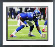 New York Giants Jason Pierre-Paul 2014 Action Framed Photo