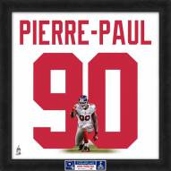 New York Giants Jason Pierre-Paul Super Bowl Uniframe Framed Jersey Photo