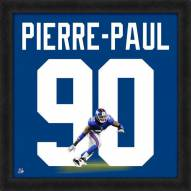 New York Giants Jason Pierre-Paul Uniframe Framed Jersey Photo