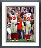 New York Giants Justin Tuck & Michael Strahan Super Bowl XLII Framed Photo