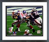 New York Giants Justin Tuck Super Bowl XLII Framed Photo