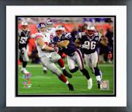 New York Giants Kevin Boss Super Bowl XLII Action Framed Photo
