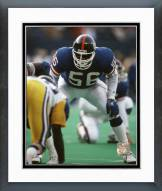 New York Giants Lawrence Taylor Defensive Stance Framed Photo