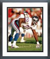 New York Giants Leonard Marshall Action Framed Photo