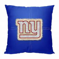 New York Giants Letterman Pillow