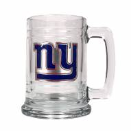 New York Giants Logo Glass Tankard - Set of 2