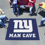 New York Giants Man Cave Tailgate Mat
