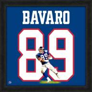 New York Giants Mark Bavaro Uniframe Framed Jersey Photo