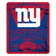 New York Giants Marque Fleece Blanket