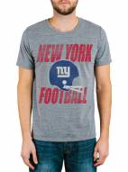 New York Giants Men's Touchdown Tri-Blend Tee
