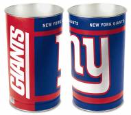 New York Giants Metal Wastebasket