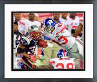 New York Giants Michael Johnson Super Bowl XLII Action Framed Photo