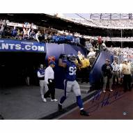 "New York Giants Michael Strahan Introduction to Game Signed 16"" x 20"" Photo"