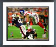 New York Giants Michael Strahan Super Bowl XLll Action Framed Photo
