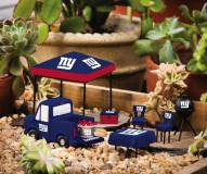 New York Giants Mini Tailgate Garden Set