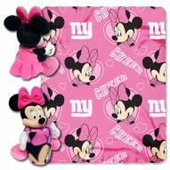 New York Giants Minnie Mouse Throw Blanket
