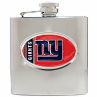 New York Giants NFL 6 Oz. Stainless Steel Hip Flask