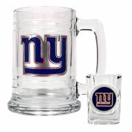 New York Giants NFL Boilermaker Set - Shot Glass & Tankard Mug
