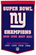 Winning Streak New York Giants NFL Dynasty Banner