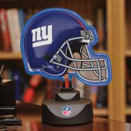 New York Giants Neon Helmet Desk Lamp
