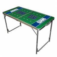 New York Giants NFL Outdoor Folding Table