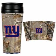 New York Giants NFL RealTree Camo Coffee Mug Tumbler