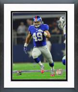 New York Giants Nikita Whitlock 2015 Action Framed Photo