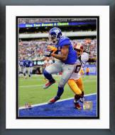 New York Giants Odell Beckham 2014 Action Framed Photo