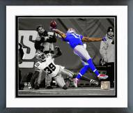 New York Giants Odell Beckham 2014 Spotlight Action Framed Photo