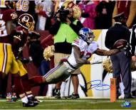 "New York Giants Odell Beckham Jr. Diving TD Catch vs. Redskins Signed 16"" x 20"" Photo"