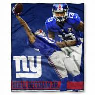 New York Giants Odell Beckham Jr. Silk Touch Blanket