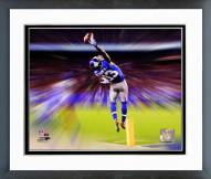New York Giants Odell Beckham Motion Blast Framed Photo