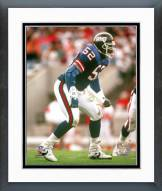 New York Giants Pepper Johnson Action Framed Photo