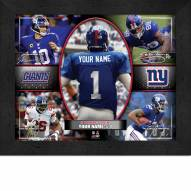 New York Giants Personalized Framed Action Collage