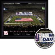 New York Giants Personalized Framed Stadium Print